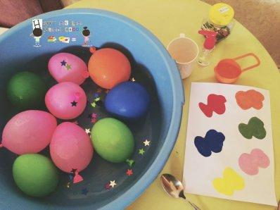 Sensory surprise eggs